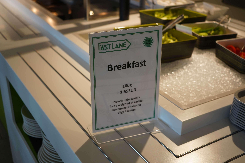 1,55 евро за завтрак в круизах VR Lines